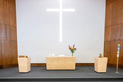 Altarraum der Pauluskirche